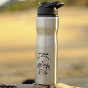 Ma'Daerah Water Bottle (Silver)