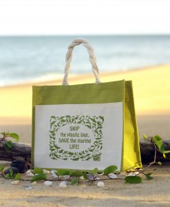 Ma'Daerah Jute Bag (Green)
