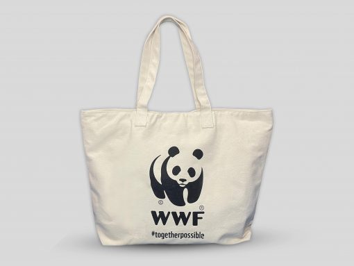 Foldable Tote Bag-front view